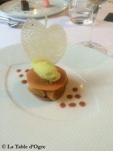 Auberge de La Caillère Tarte aux pommes
