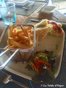 Blue Marlin Paradise Beachcomber Club Sandwich