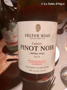 Blue Penny Constance Belle Mare Pinot noir Felton Road Calvert