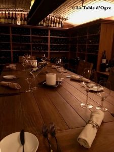Blue Penny Constance Belle Mare table d'hôte cave