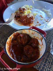 Casela Restaurant Rougaille saucisses