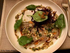 Casse-Noix Hure de cochon, sauce ravigote