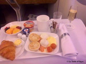 Emirates Petit-Déjeuner