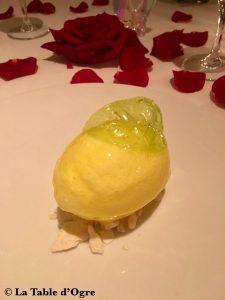 Epicure Bristol Dessert citron givré