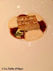Epicure Bristol Macaroni (taille Canneloni!) Foie gras