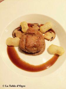Georges Blanc Ris de veau, pommes soufflées