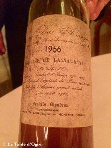 Lasserre Armagnac Lassaubatju Blondeau