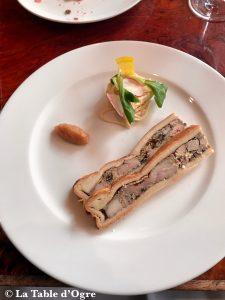 L'assiette L'assiette Entrée terrine ris de veau et foie gras