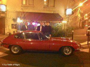 Le Bugatti avec des amis