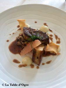 Le Cheval blanc Foie gras poêlé