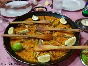 Le restaurant du port de pêche Paella
