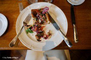 Les Brigittines Croustade champignons et légumes