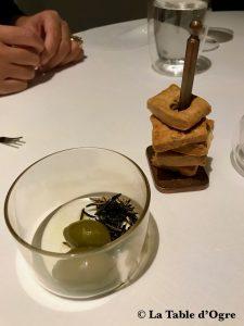Pipero Roma Amuse-Bouche Olives romarin fumé