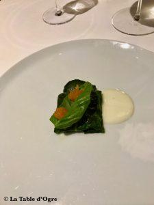 Pipero Roma Anguille en feuille de bette