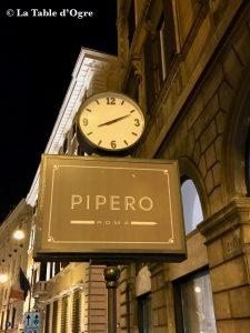 Pipero Roma Annonce rue