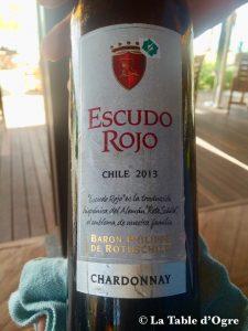 Republik Touessrok Escudo Rojo Chili Baron Philippe de Rothschild