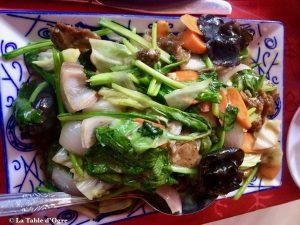 Restaurant Café Pereybere Chop Suey canard