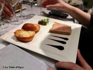 Vagenende Foie gras