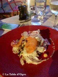 Villa Sainte-Anne Poulpe en salade