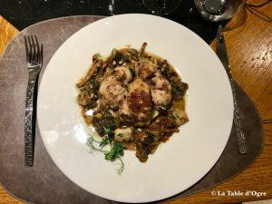 Auberge Le Beauharnais Ris de veau
