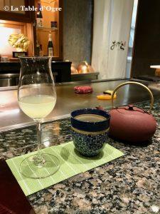 Teppanyaki Ginza Onodera Apéritif citron