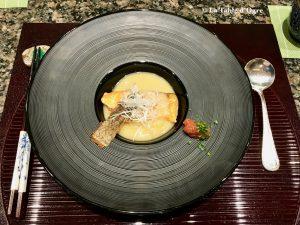 Teppanyaki Ginza Onodera Saumon grillé