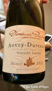 Le Bréard Auxey-Duresses 2012