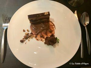 Le Bréard Foie gras chocolat et noisettes