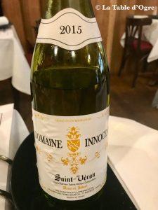 Le petit Bouchon Saint-Véran 2015